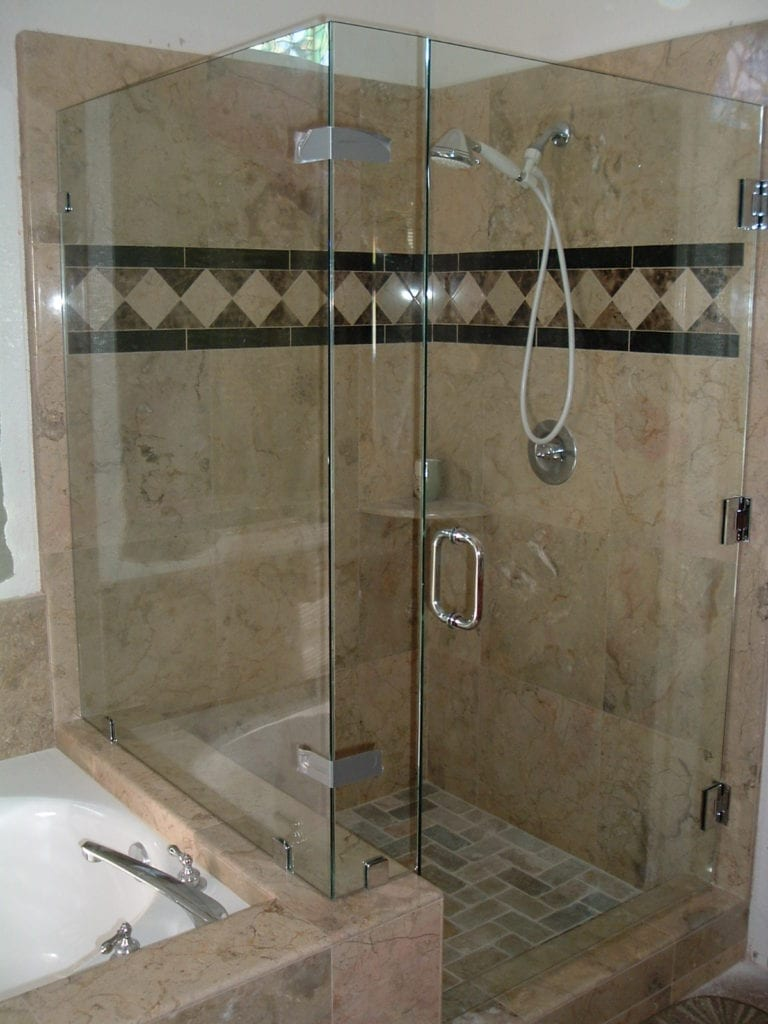 ideas doors decoration seamless home for your shower