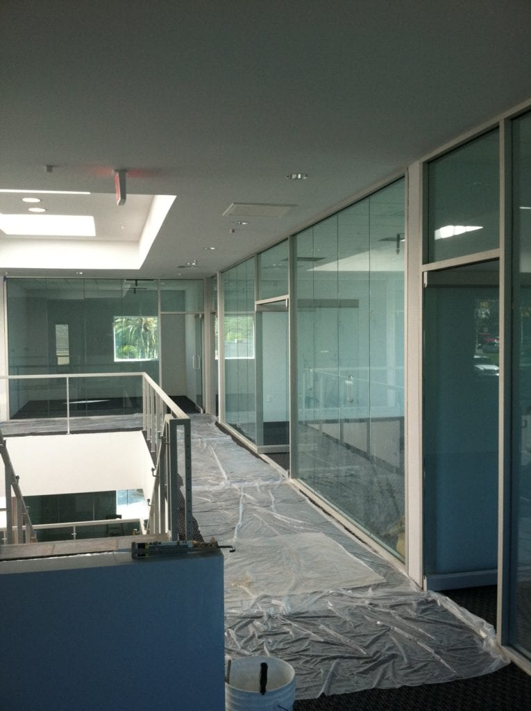 who to hire to install glass railing